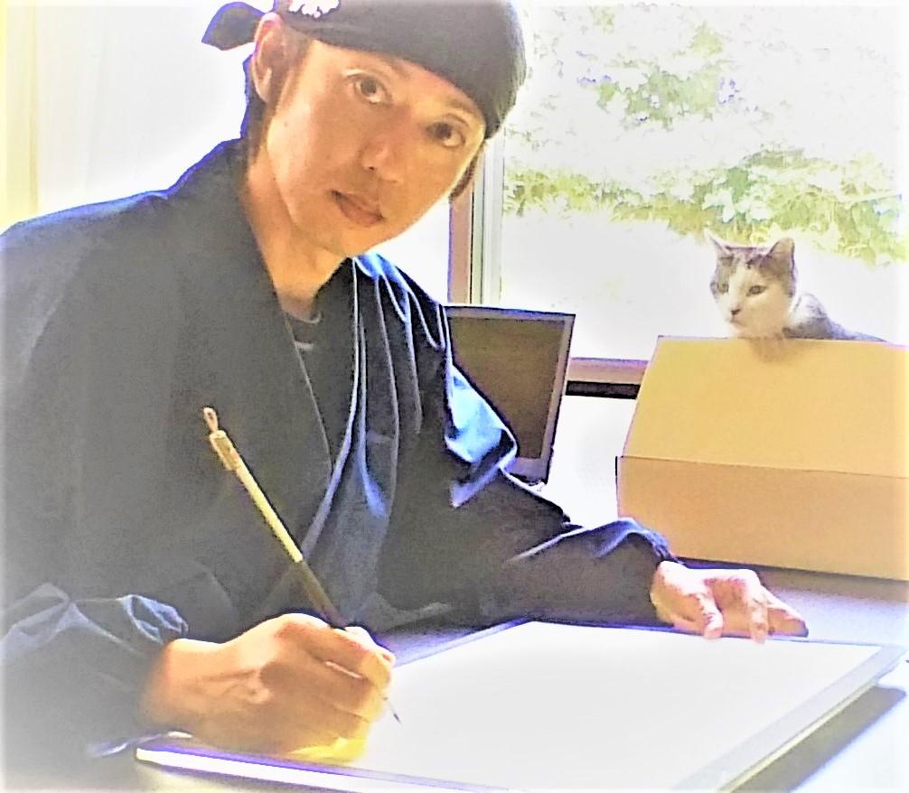 筆耕士で書道家の清水克信のプロフィール写真
