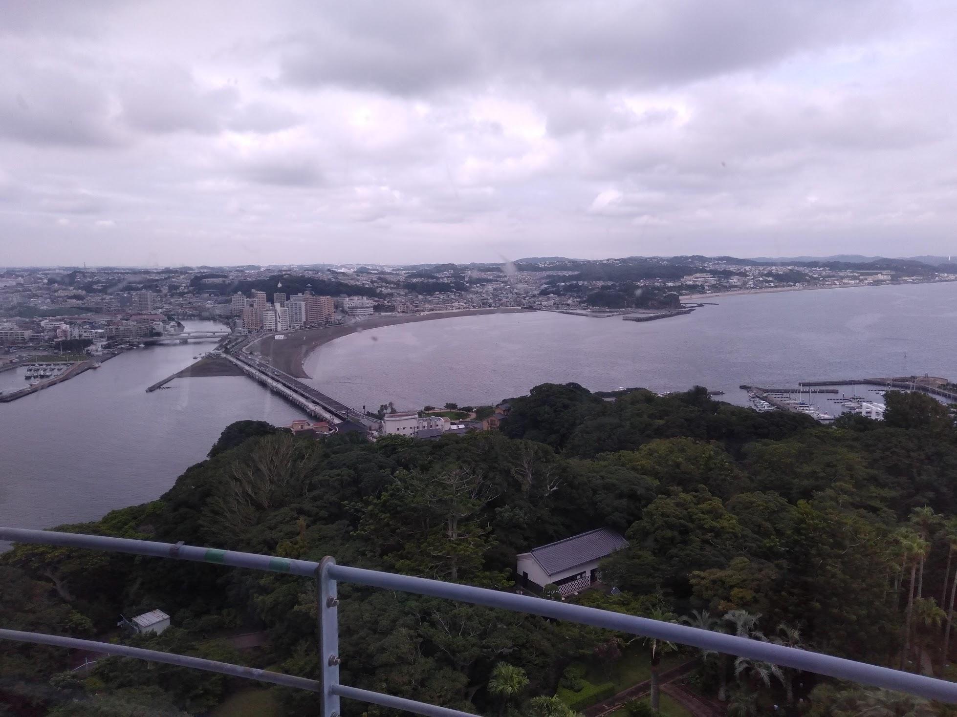 展望灯台からの眺め